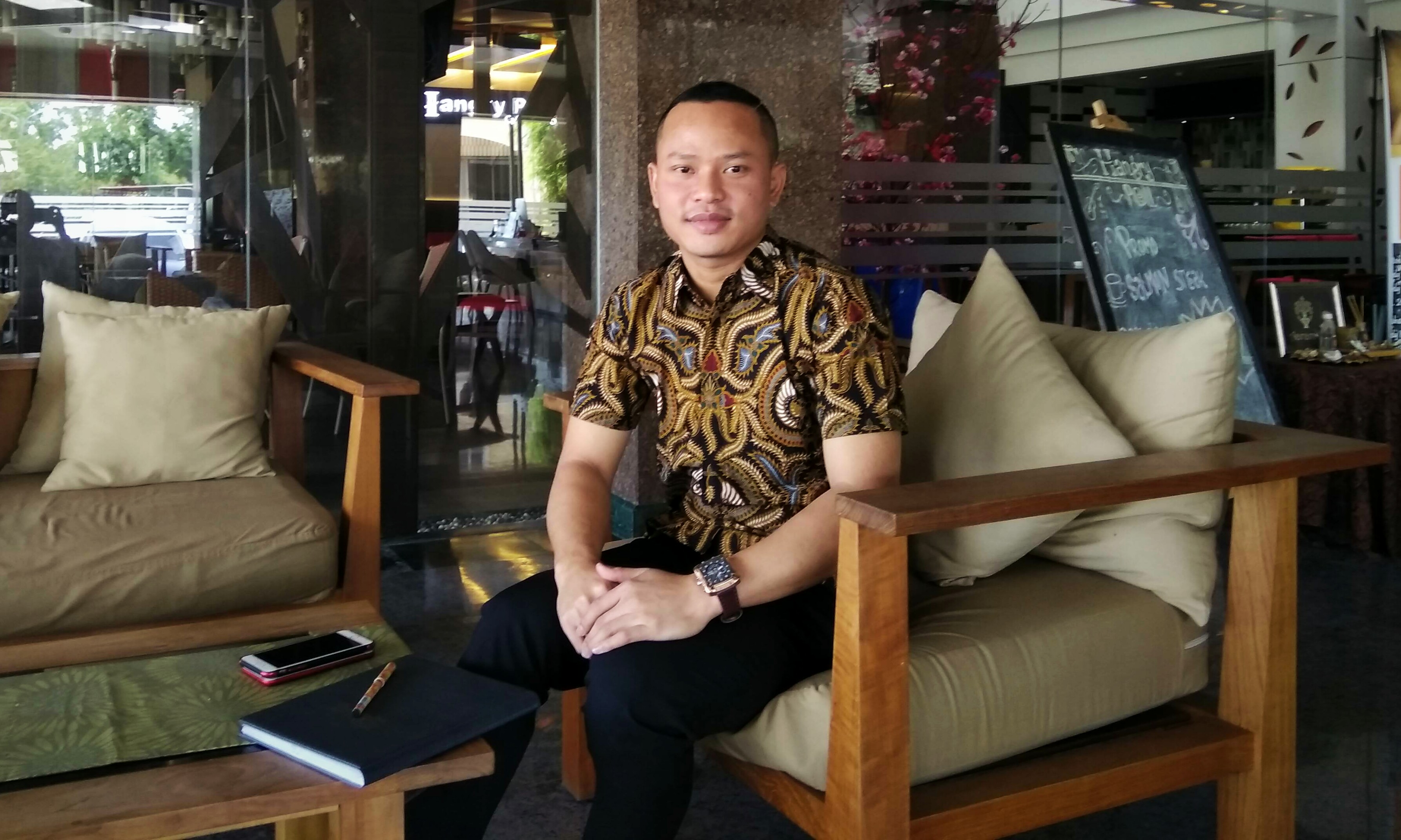 Adi Saputra, Assistant Director of Sales Zia Boutique Hotel Batam (netrakepri.com)